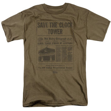 Back To The Future-Clock Tower - Hoodies, T-shirts, Sweatshirts & More