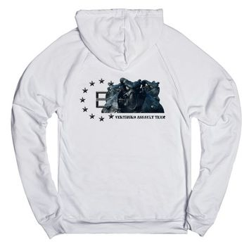 Fallout Enclave Vertibird Assault Team + Logo | Hoodie | SKREENED