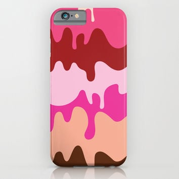 Melting Ice Cream iPhone & iPod Case by Ornaart