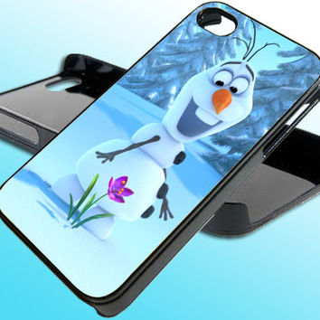 Frozen Disney 3D Cartoon Disney for iPhone 4/4s Case - iPhone 5 Case - Samsung S3 - Samsung S4 - Black - White (Option Please)