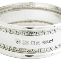 English Sterling Silver Napkin Ring, Napkin Rings & Holders