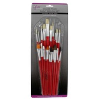 Assorted Value Pack Brushes - 25-Piece Set | Hobby Lobby