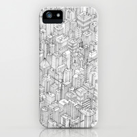 Isometric Urbanism pt.1 iPhone & iPod Case by Herds Of Birds