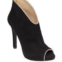 Jessica Simpson Abbear Suede Leather Heels