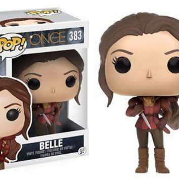 Funko Pop TV: Once Upon a Time - Belle Vinyl Figure