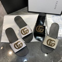 DCCK Gucci Women's Leather Sandals