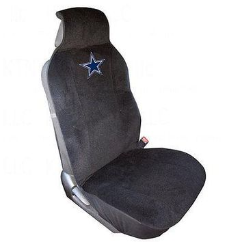 Licensed Official Brand New NFL Universal Fit Front Car Truck SUV Van Front Sideless Seat Cover