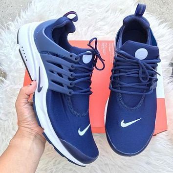 Nike Air Presto Woman Men Fashion Casual Trending Running Sneakers Sport Shoes Black G