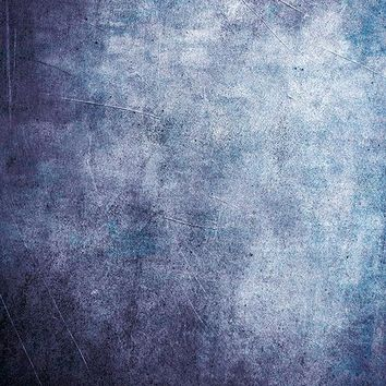 Printed Textured Purple and Blue Concrete Wall Grunge Backdrop - 6947