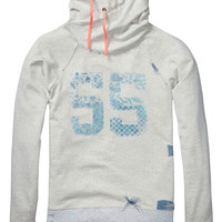 Twisted hood sweater - Scotch & Soda