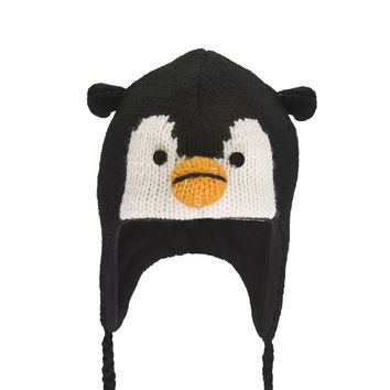 Peppy The Penguin Peruvian Knit Hat