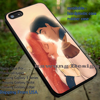 Princess Ariel and Prince Eric iPhone 6s 6 6s+ 5c 5s Cases Samsung Galaxy s5 s6 Edge+ NOTE 5 4 3 #cartoon #disney #animated #theLittleMermaid dt