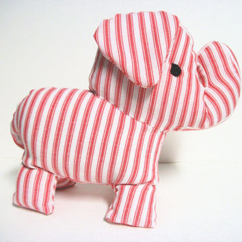 Elephant Plush Ecofriendly Barnum by RopeSwingStudio on Etsy