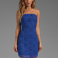 Diane von Furstenberg Walker Dress in Blue