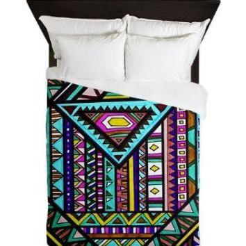 Alliance Queen Duvet> Bedding> art by Erin Jordan