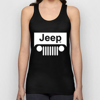 Jeep Logo Tank Top for Men, Women, Girl, Boy, Teen, Apparel, Style, Inspired, Design