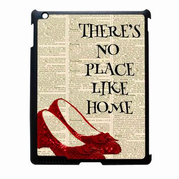 Dictionary Style Wizard Of Oz There Is No Place Like Home iPad 4 Case