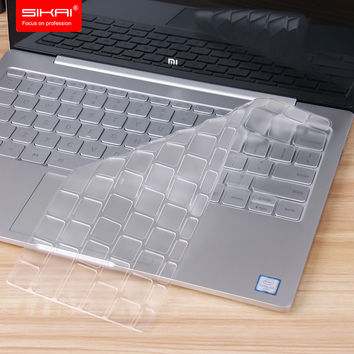 "SIKAI New Arrival Clear Soft TPU Keyboard Cover Skin For Xiaomi Air 12.5"" Transparent Thin Laptop Protector Film For Xiaomi Air"