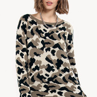 Flecks of Camo Sweater $50