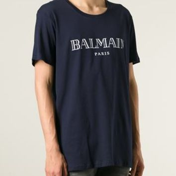 Balmain Logo T-shirt - The Corner Berlin - Farfetch.com
