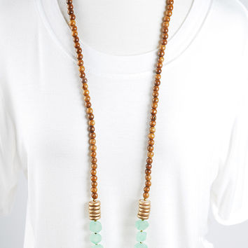 The Charlotte Necklace - Green