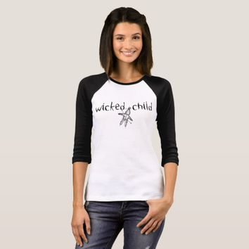 Wicked Child Voodoo Doll Black T-Shirt