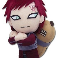 "Great Eastern Official Naruto Shippuden: Gaara Kazekage 8"" Plush"