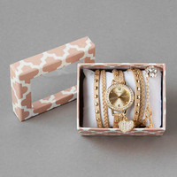 MELODY BOXED WRAP WATCH
