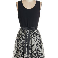 ModCloth Mid-length Sleeveless A-line You've Got Real Appeal Dress