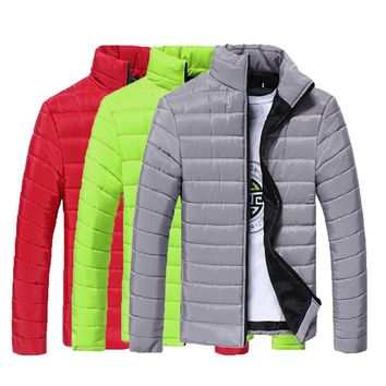Men's Packable Winter Puffy Jacket