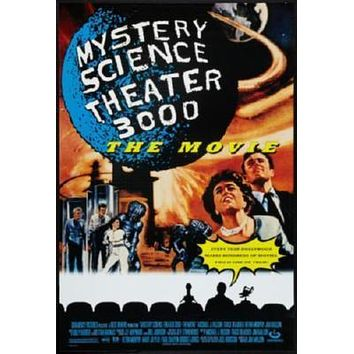 Mystery Science Theater 3000 Stk3K poster Metal Sign Wall Art 8in x 12in