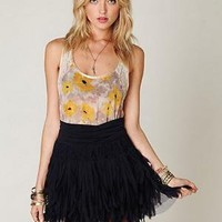 FP ONE Shredded Chiffon Mini at Free People Clothing Boutique