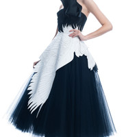 Pegasus Tulle Dress by Giles for Preorder on Moda Operandi