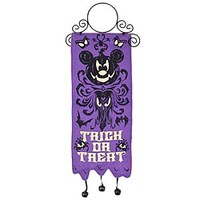 The Haunted Mansion Halloween Mickey Mouse Door Hanger | Disney Store