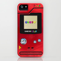 Retro Nintendo Gameboy pokemon pokeball pokedex apple iPhone 4 4s, 5 5s 5c, iPod 4,5 & samsung galaxy s4 case cover