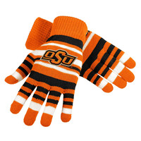 Oklahoma State University OSU Cowboys Tide Forever Collectibles Stretch Gloves Ladies One Size