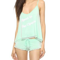 Wildfox Head in the Clouds Sleepover Pajama Set