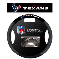 Houston Texans NFL Poly-Suede Steering Wheel Cover