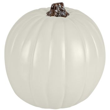 "9"" Cream Craft Pumpkin By Ashland®"