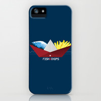 FishNChips iPhone & iPod Case by Matt Irving