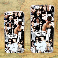 Justin Bieber hard transparent  Case for iPhone 6 6s 6 Plus