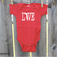 Florida Love Baby Bodysuit