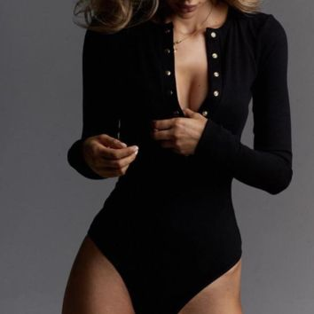 A new collection of women's one-breasted stretch jumpsuits with long sleeves