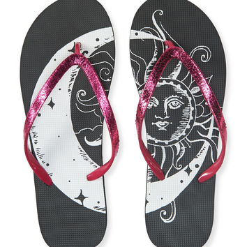 Sun And Moon Flip-Flop