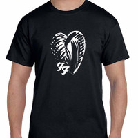 Foo Fighter One By One Japan Logo Mens T Shirt