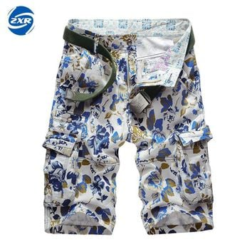 Casual Loose Straight Floral Pattern Beach Shorts Male New Fashion Men's Shorts Casual Summer Shorts Bodybuilding Short Pants