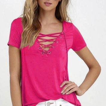 Crossing The Line Top Rose