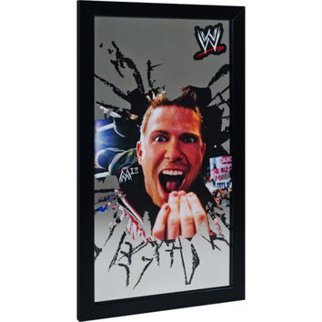 WWE The Miz Framed Logo Mirror