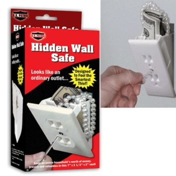 Hidden Wall Safe stash spot
