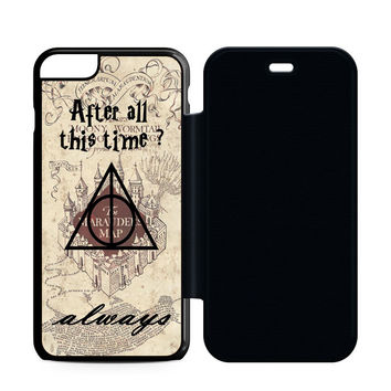 After All This Time Always Quote Harry Potter Flip Case iPhone 6 | iPhone 6S | iPhone 6S Plus  Case